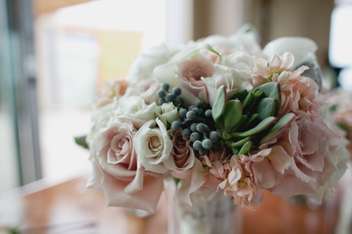 succulent bouquet  u2013 blush botanicals