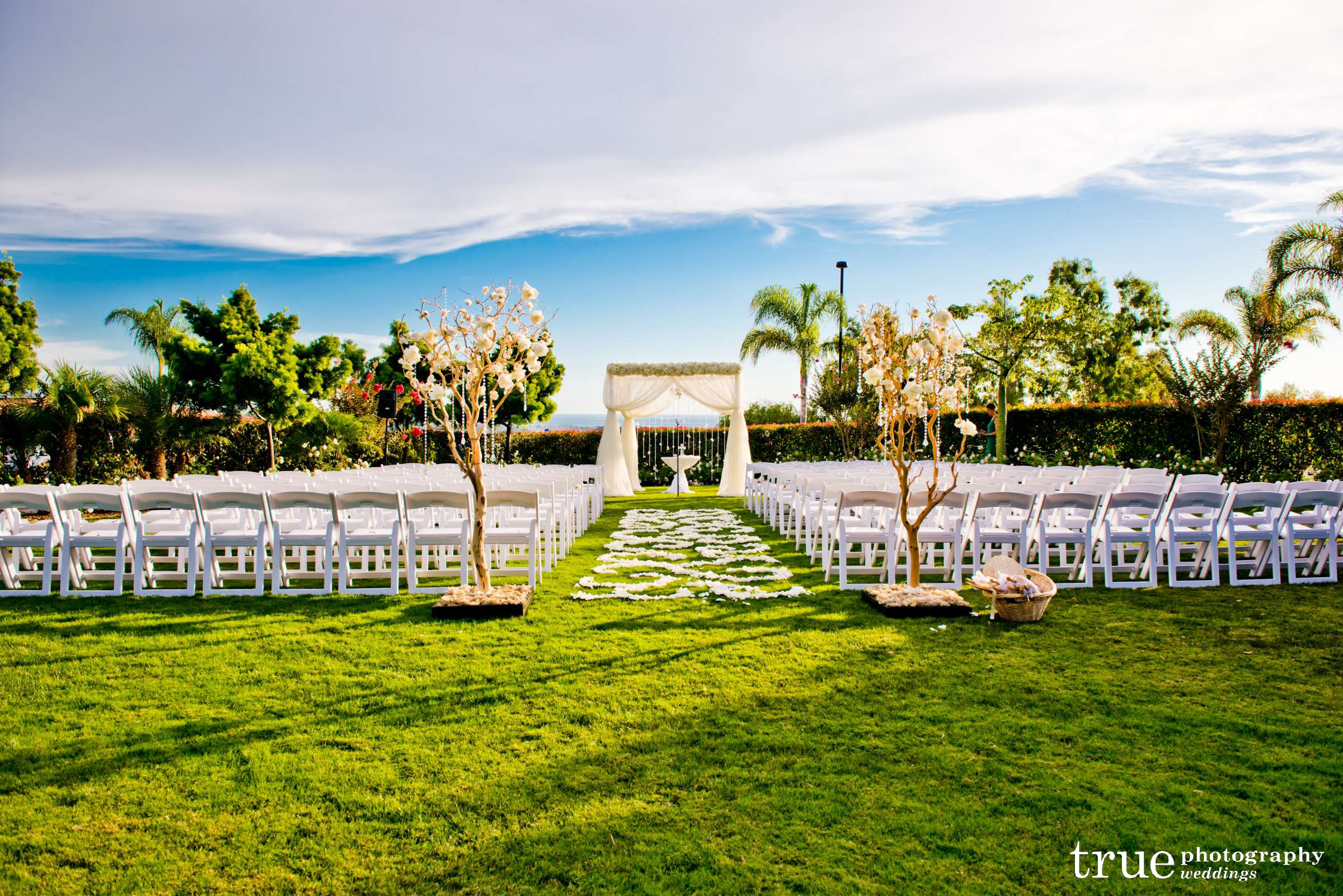 wedding ceremony � blush botanicals san diego florist